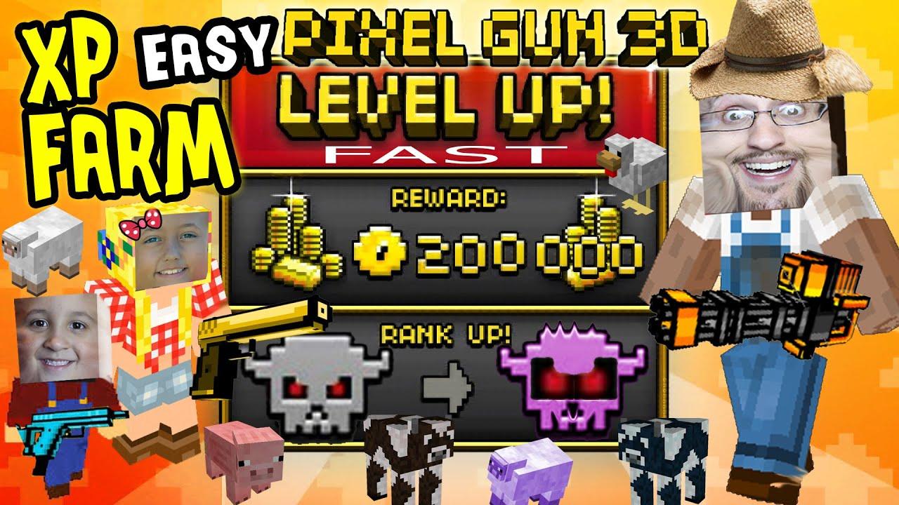 Pixel Gun 3D Pro на андроид (бесконечные деньги)