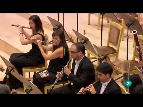 Sharon Kam with Madrid Radio RTVE -  Weber concerto No. 2 Second movement- Andante con moto