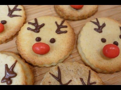 Kekse Backen Weihnachten.Thermomix Tm 5 Rentier Kekse Platzchen Backen Zu Weihnachten