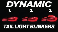 BMW F30 DYNAMIC BLINKER TAIL LIGHT ADAPTER ** INSTALL AND REVIEW!!