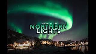 Video Unbelievable northern lights real time footage 4K - Tromsø, Norway download MP3, 3GP, MP4, WEBM, AVI, FLV September 2018
