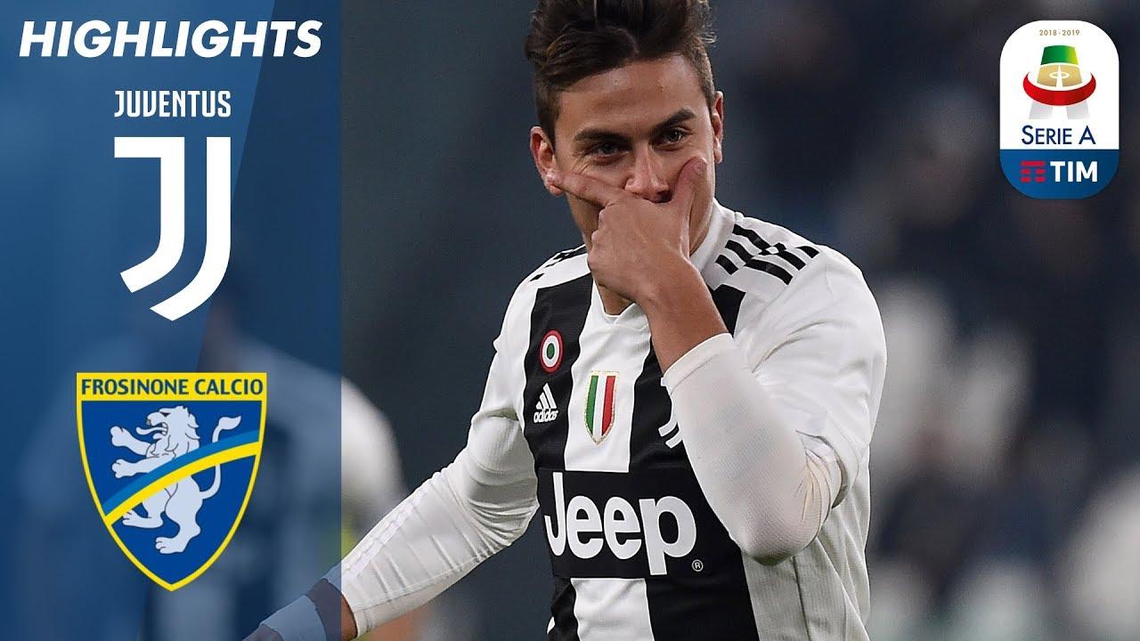 Juventus 3 0 Frosinone Ronaldo And Dybala Help Juventus Beat Frosinone Serie A
