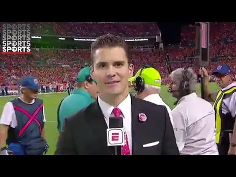 Sergio Dipp: Greatest Sideline Report Ever?