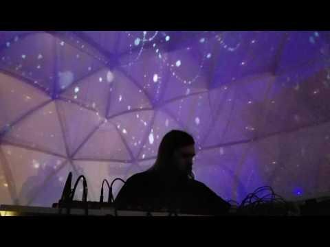Andrew Pigue live at Modular Art Pods at OZ Art Fest