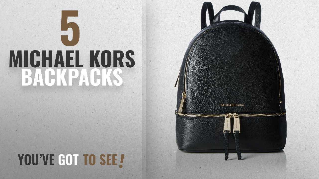 45c921e14b4d Top 10 Michael Kors Backpacks [2018]: MICHAEL Michael Kors Rhea Zip ...