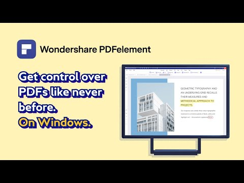 Wondershare PDFelement 8 simplifies the way users interact and communicate with documents