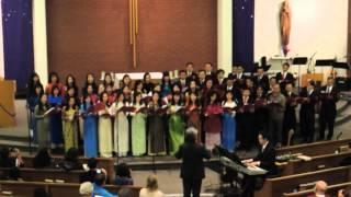 Liên Khúc Chúa Thương Loài Người ~ Ca Đoàn Gloria Dec. 13, 2013 (Christmas Concert 3 sắc tộc)