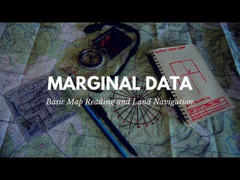 Basic Map Reading: Marginal Data