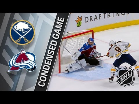 Buffalo Sabres vs Colorado Avalanche – Dec. 05, 2017 | Game Highlights | NHL 2017/18. Обзор матча