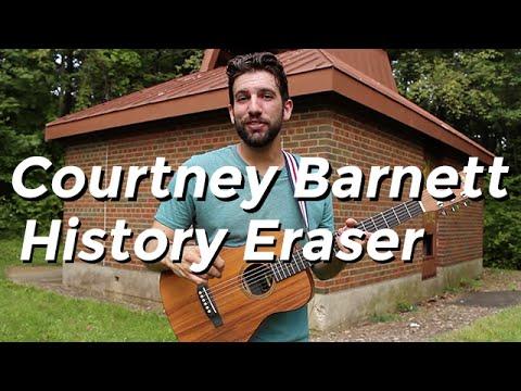 Courtney Barnett - History Eraser (Guitar Tutorial) by Shawn Parrotte