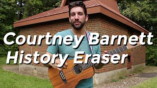 Courtney Barnett - History Eraser (Guitar Tutorial) by Shawn Parrotte