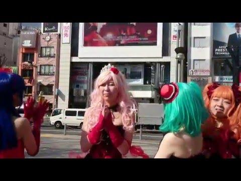 セカンドワンマンライブの映像をメンバーが見に来ましたよ!! 画面には写ってませんが、画面脇ではカメラを持った外人さん人集り!! 撮影終...