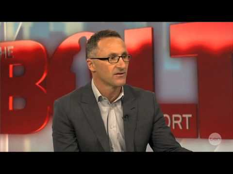 Greens Leader Richard Di Natale on the Bolt Report