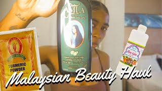 MALAYSIAN / INDIAN Beauty Secrets Haul !!! 🇲🇾🇮🇳