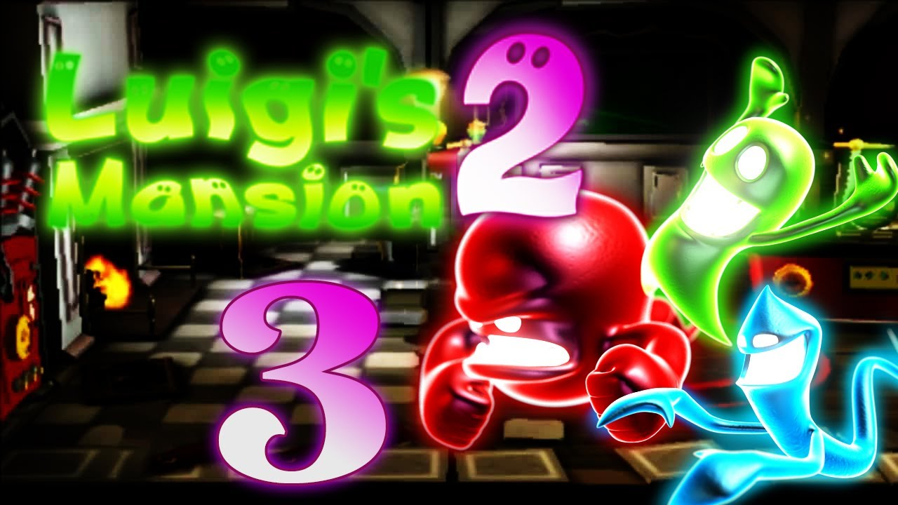 Let\'s Play Luigis Mansion 2 Part 3: Wayne Rooney Geister - YouTube