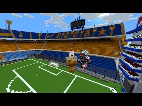 La Bombonera en Minecraft 2015