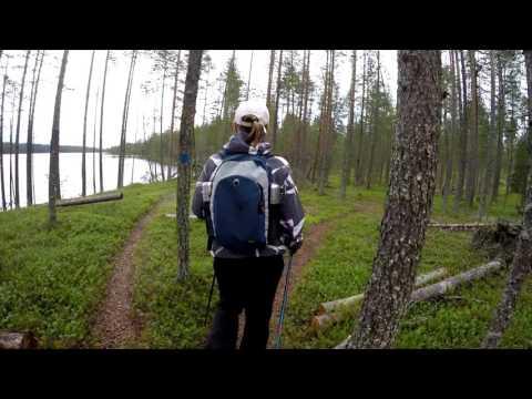 Retkeily -vaellus Hossan Kansallispuisto- Hossa National Park-Wild nature