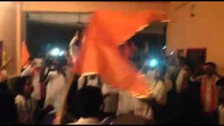 shiv jayanti palkhi nilaje hindutwa pratishtshan