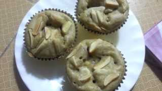 Sugarless Apple Banana Muffin Recipe