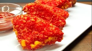 How To Make Flamin' Hot Cheetos Grilled Cheese - Full Recipe
