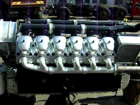 Motor Tatra 815 V12 Youtube