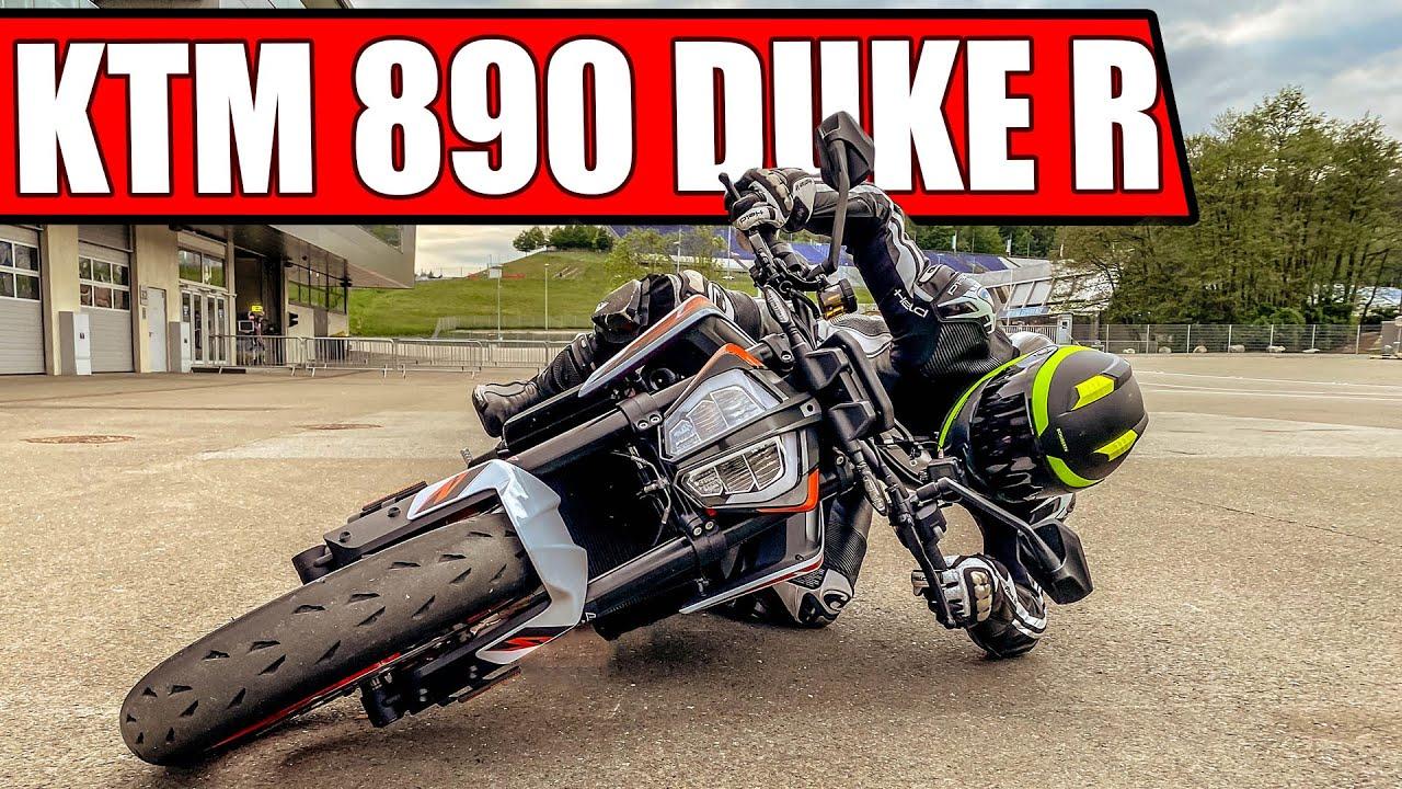 KTM 890 DUKE R 2020 RENNSTRECKEN TEST