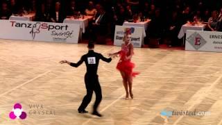 Miha Vodicar - Nadiya Bychkova, Austrian Open 2013, WDSF WCH 10 dance, final - jive