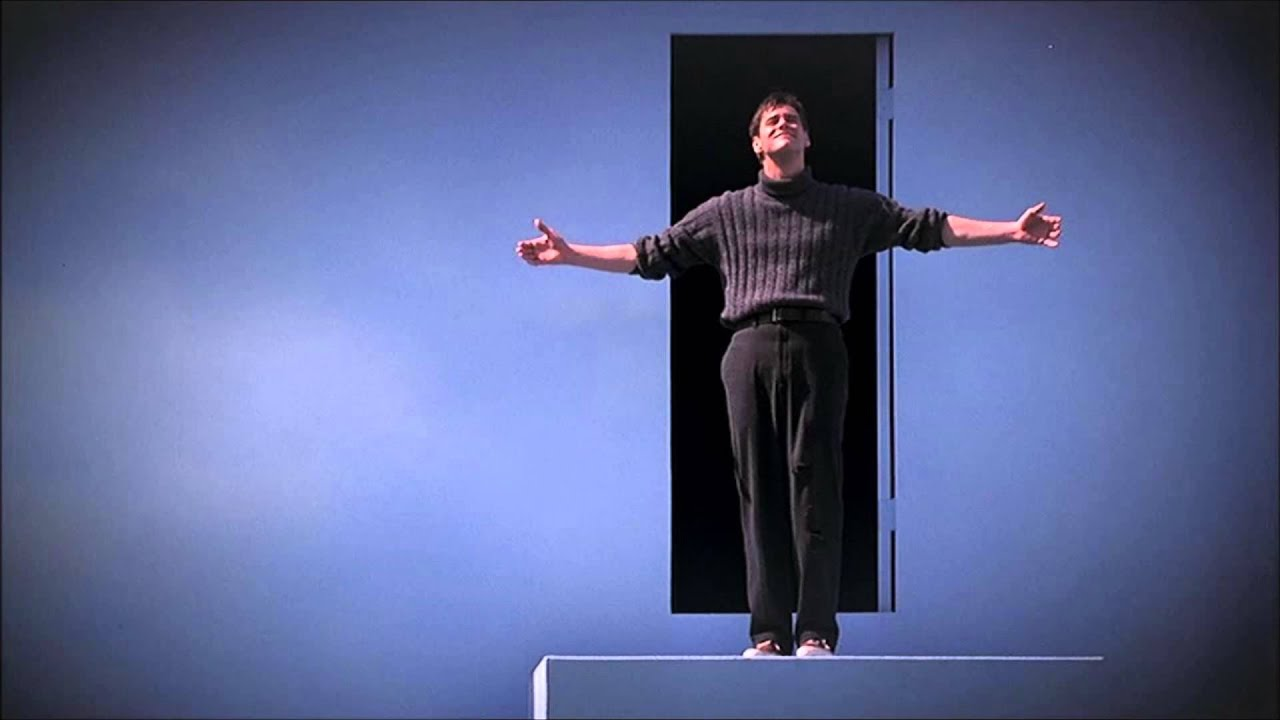 an analysis of the fake love in the truman show movie The truman show and stranger than fiction analysis of class topics in stranger than fiction and the truman show in the movie, harold falls in love with a free.
