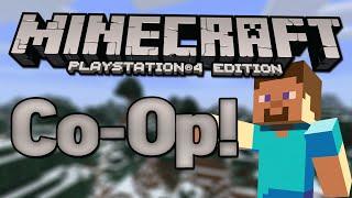 Minecraft PS4 Survival Co-op! - Episode 1