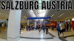 Munich Germany to Salzburg Austria by train