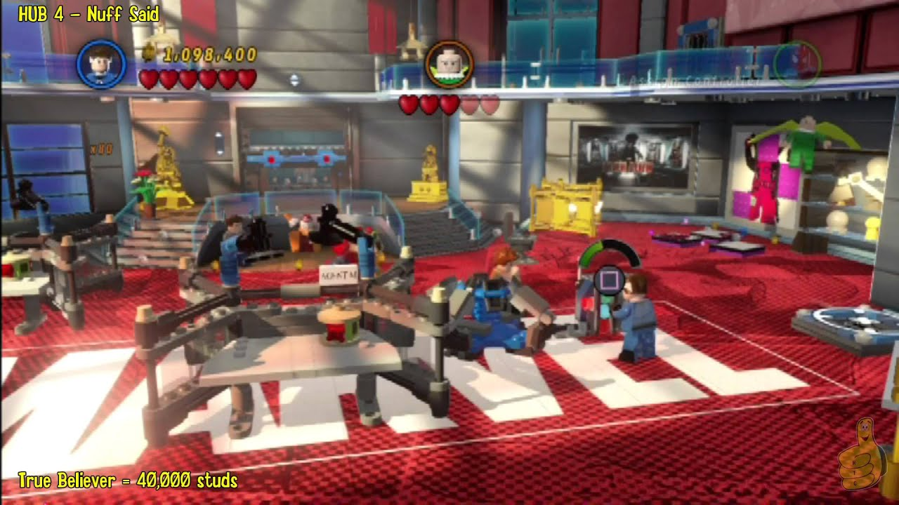 marvel lego nuff said