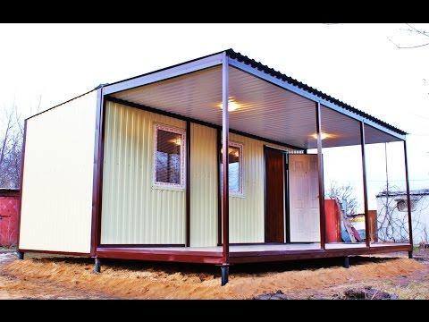 Дачный дом своими руками, построить дом своими руками