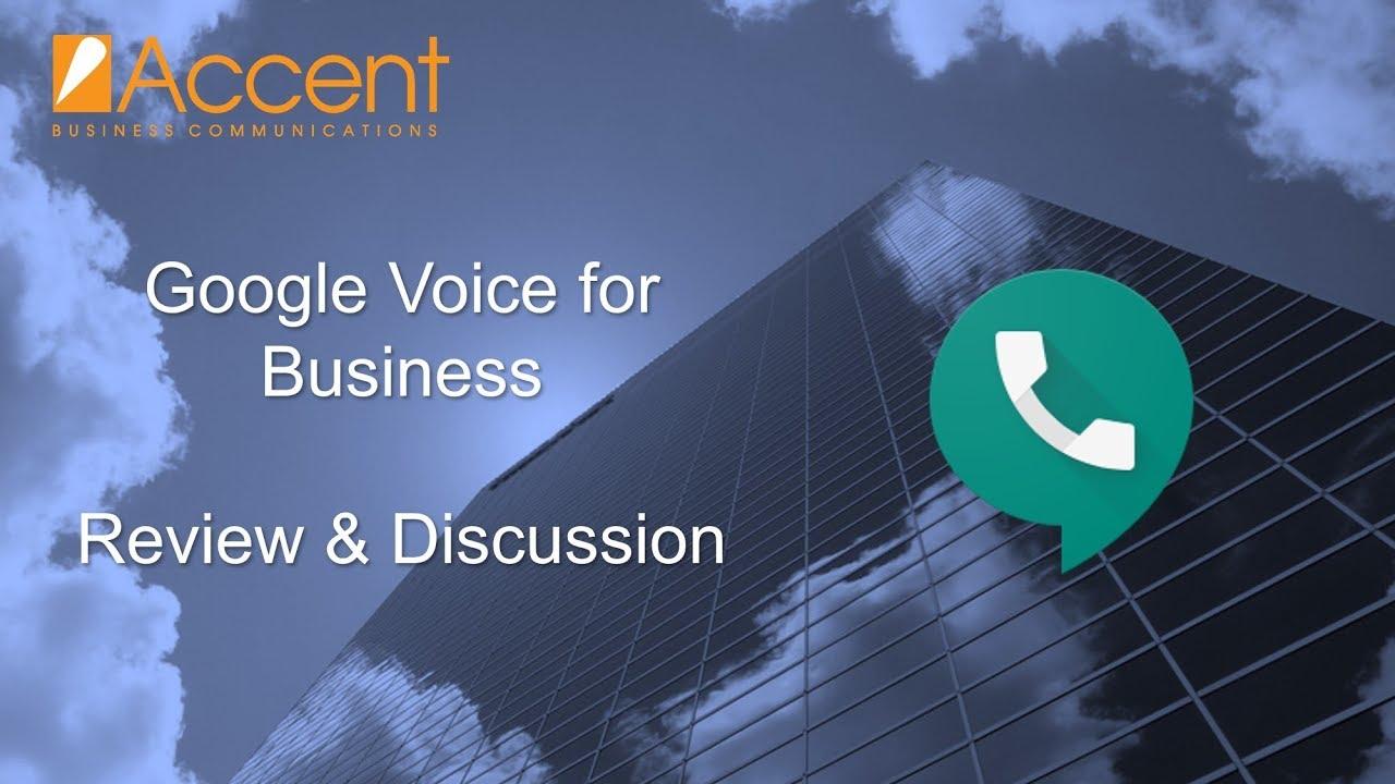 Google Voice for Business Setup ...