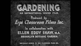 1940s Gardening Film..Follow Billy and Betsy as they grow a garden.