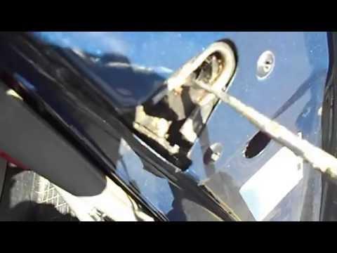 How Simple Easy Way To Fix Repair Stuck Open Latch Won't Does Not Close Door GM Chevrolet Astro Van