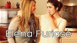 Elena Furiase cocina en su casa Tarta de queso y chocolate (sin gluten). Celebrity in the Kitchen