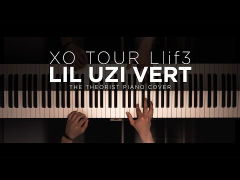 Lil Uzi Vert - XO TOUR Llif3 | The Theorist Piano Cover