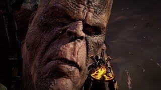 God of War 3 - Кратос против Кроноса (Крона)