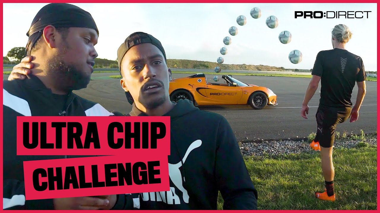 Chunkz nearly passes out in sports car! Chip Challenge ft Filly & Todd Cantwell