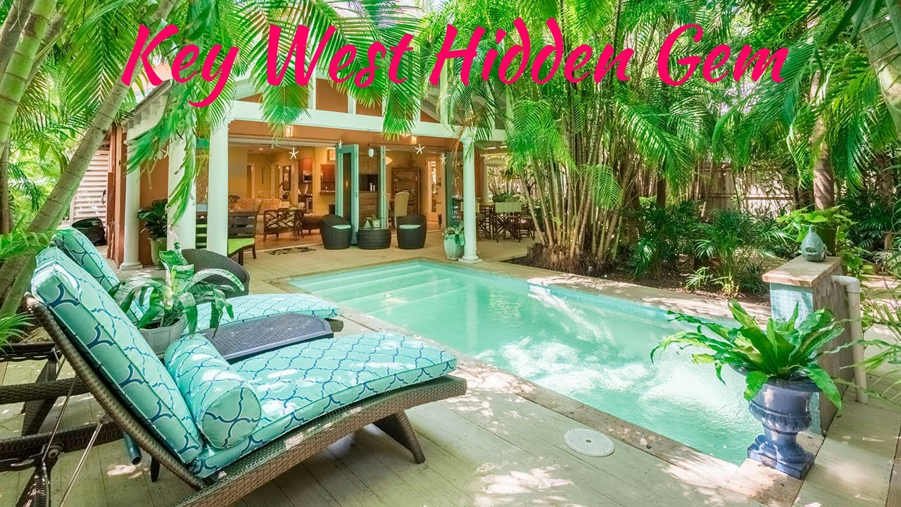 key west hidden gem private oasis with pool in wonderful key west