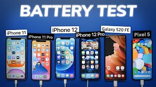 Apple iPhone 12 Battery Test