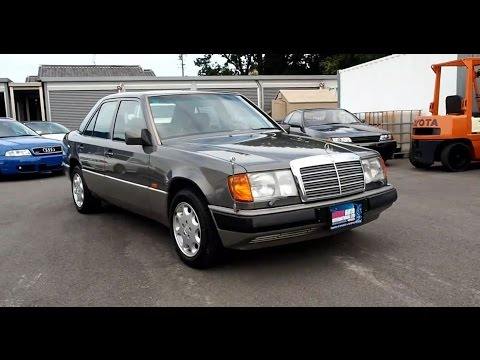 Walk Around - 1990 Mercedes Benz E300 4-Matic - Japanese Car Auction