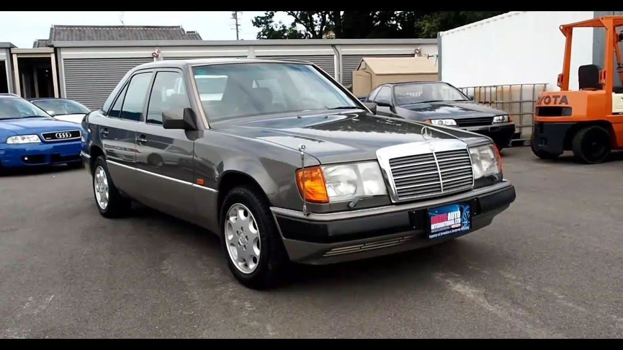 Walk around 1990 mercedes benz e300 4 matic japanese for Mercedes benz 1990 e300