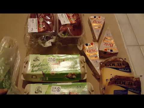 Almanya kısa Market Alisverisi ALDI