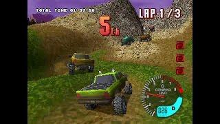 TNN Motorsports Hardcore 4X4 ... (PS1) 60fps