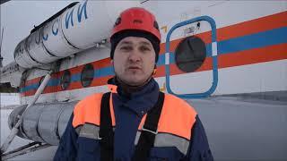 Эвакуация выжившей туристки на севере Среднего Урала