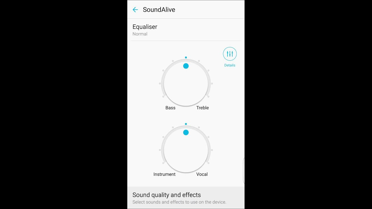 How to set equalizer setting in Samsung S6 Edge | S6 Edge Tutorial