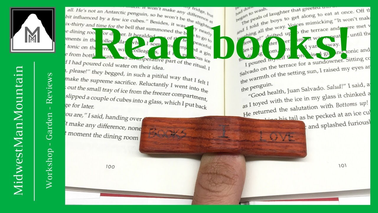 How To Make A Book Holder ~ How to make a book holder youtube