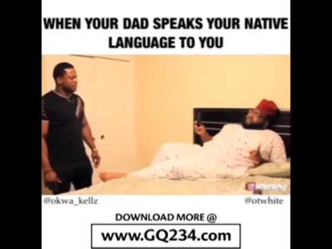 comedy video Otwhite ft  Okwa Kellz When You Form You Dont Understand Your Native Language www GQ234