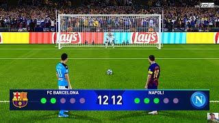 Gambar cover PES 2020   BARCELONA vs NAPOLI   Penalty Shootout   UEFA Champions League UCL   Messi vs Napoli